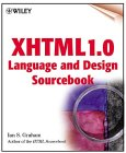 Cover of XHTML 1.0 Language and Design Sourcebook